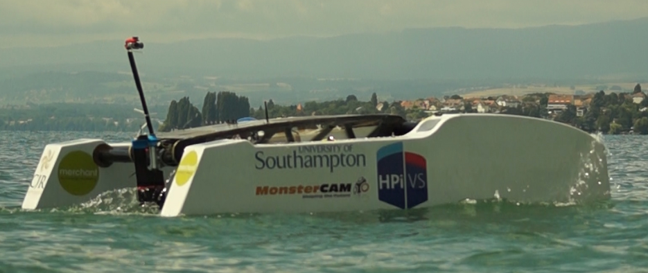 Southampton Hydro Team 2016 on Lake Geneva